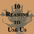 10 Reasons to Use Us